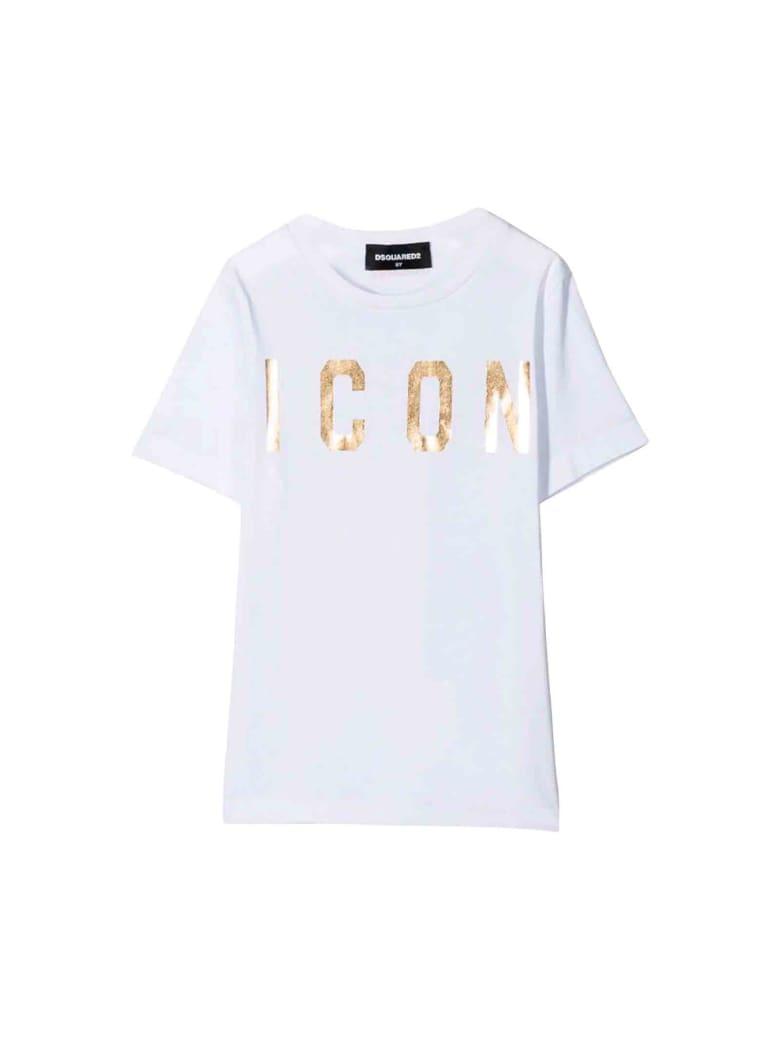 Dsquared2 White T-shirt - Unica