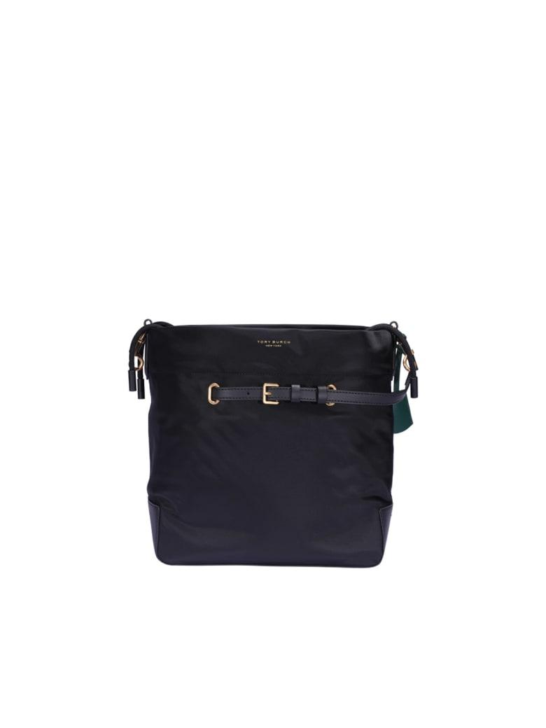 Tory Burch Perry Bucket Bag - Black
