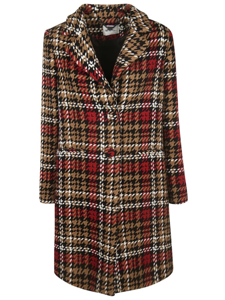 Be Blumarine All Over Print Coat - multicolored