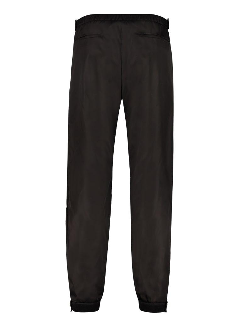 Prada Technical Fabric Pants - black