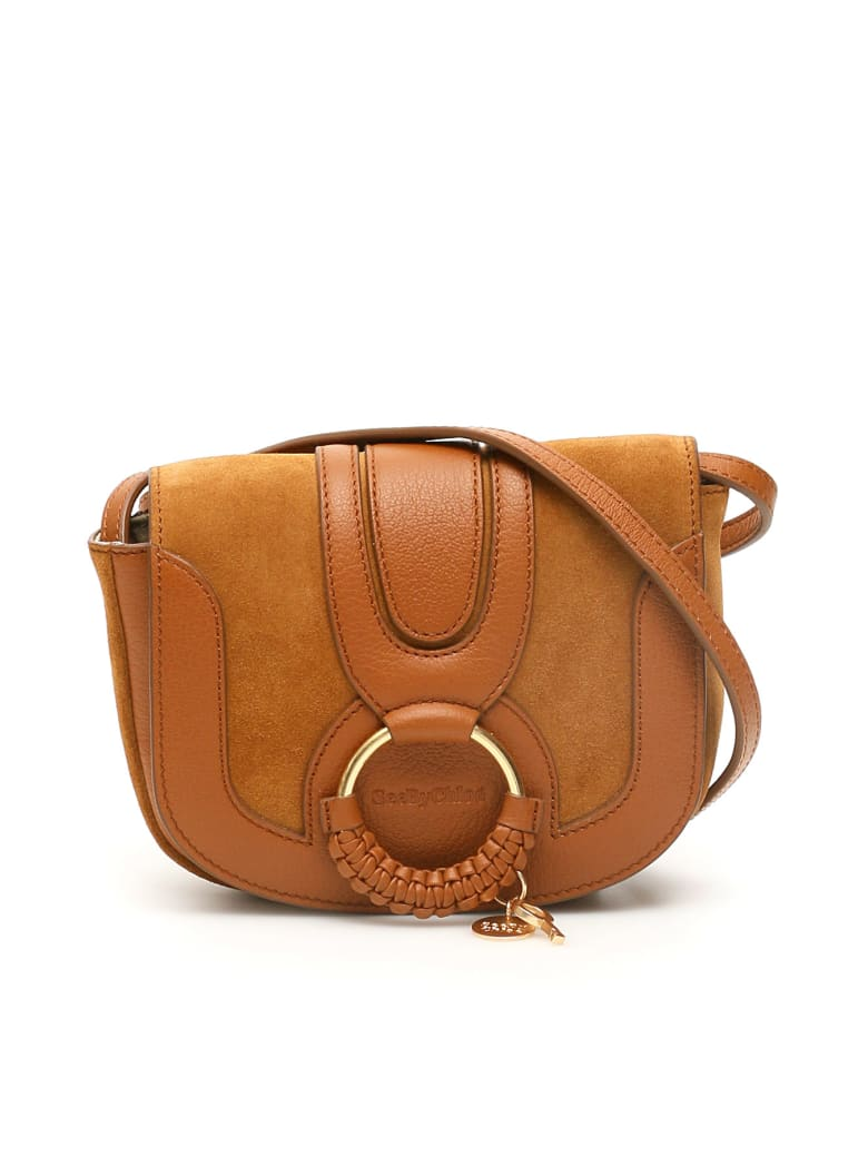 See by Chloé Mini Hana Shoulder Bag - CARAMELLO (Brown)