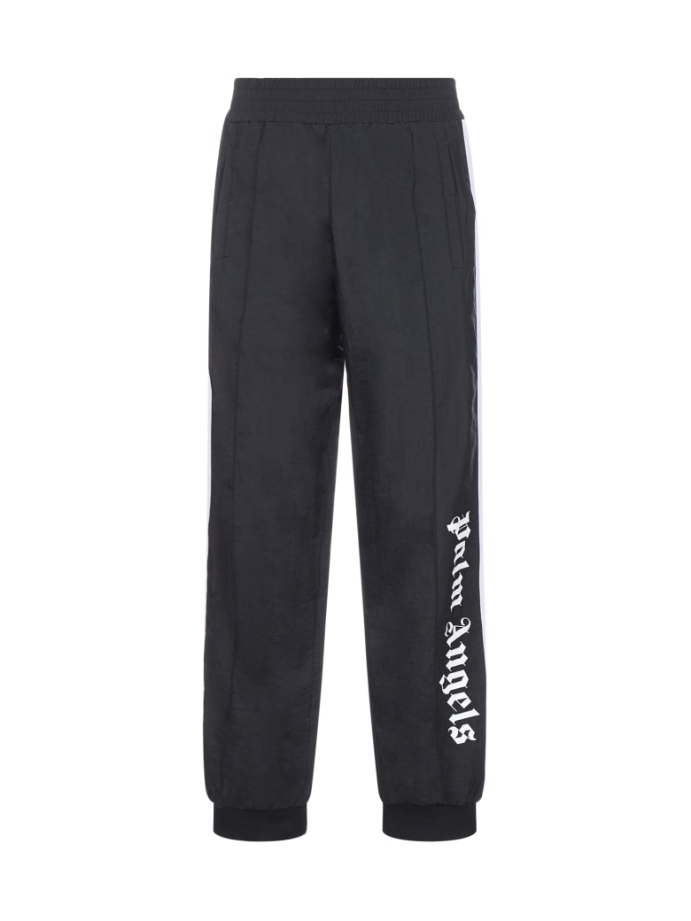 Palm Angels Trousers - Black white