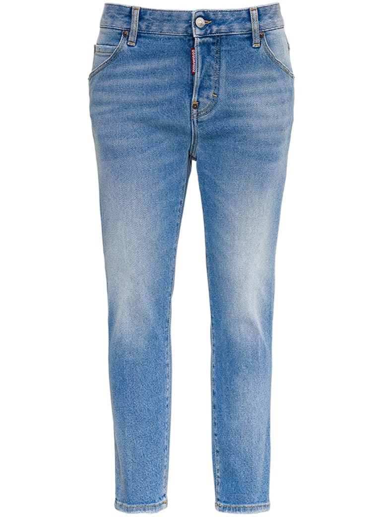 Dsquared2 Stone Washed Jeans - Blu