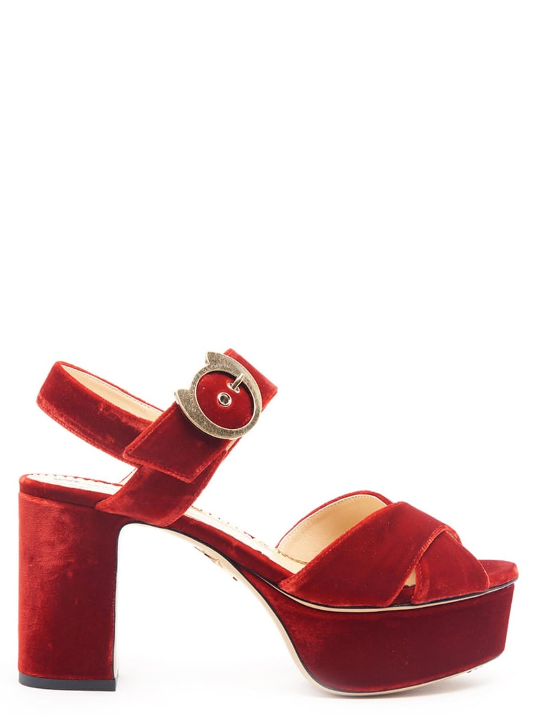 Charlotte Olympia Shoes - Red