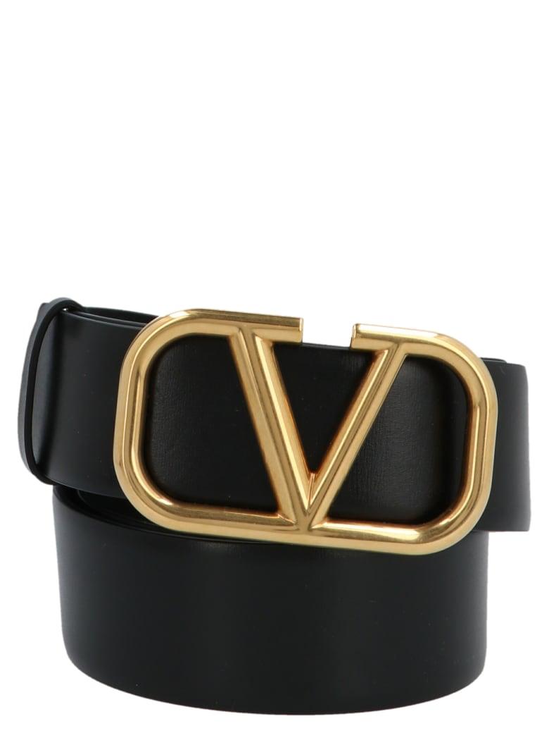 Valentino Garavani 'vlogo' Belt - Black