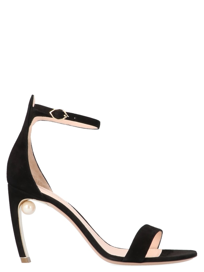 Nicholas Kirkwood 'mira Pearl' Shoes - Black