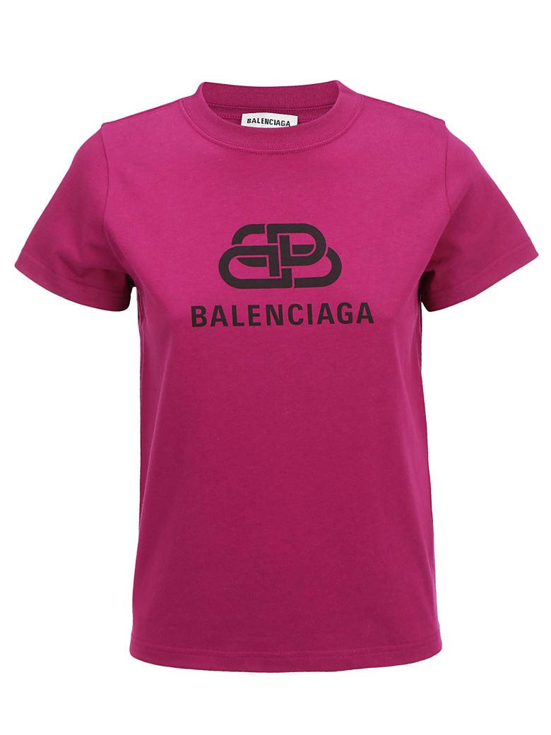 Balenciaga T-shirt - Plum