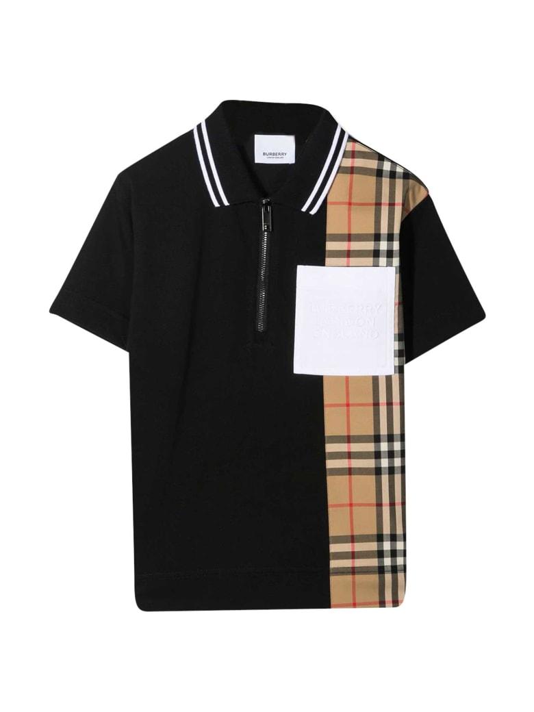 Burberry Black Polo Shirt - Nero