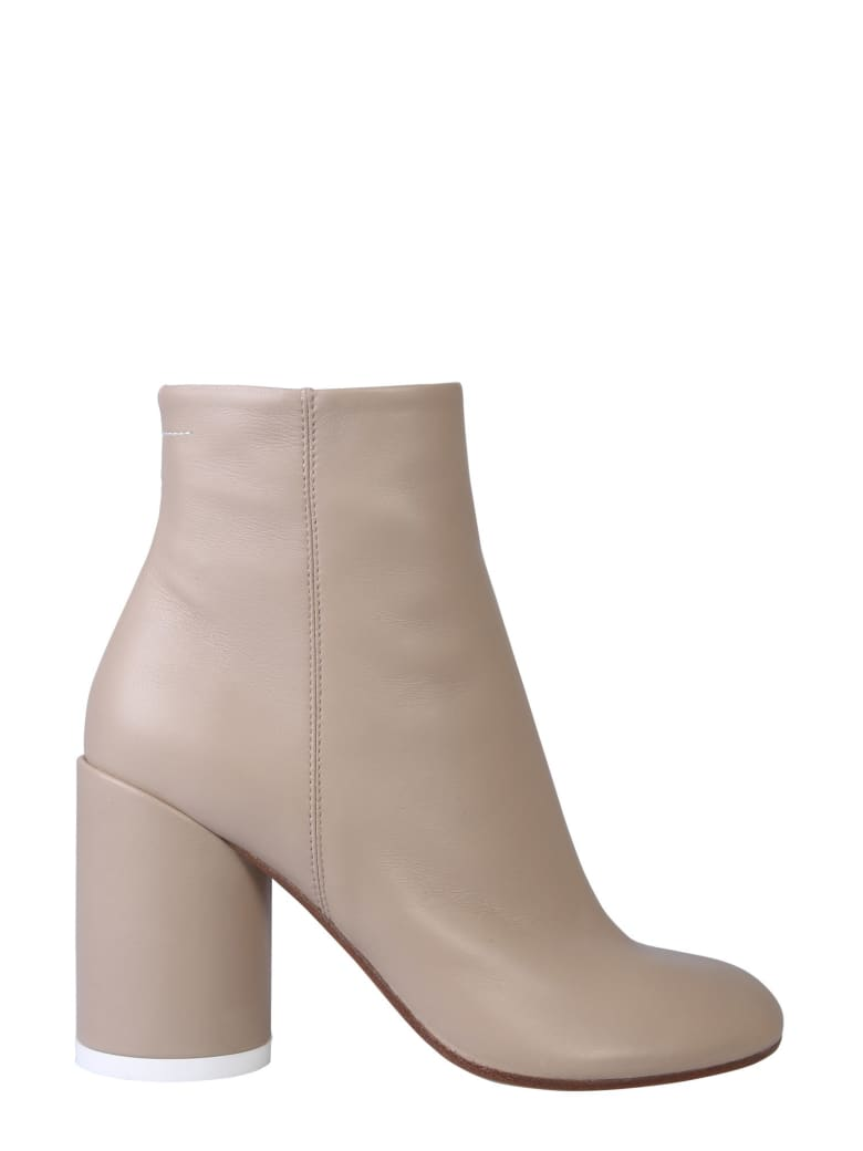 best service 97507 285a6 Best price on the market at italist | MM6 Maison Margiela MM6 Maison  Margiela '6'ankle Boot With Heel