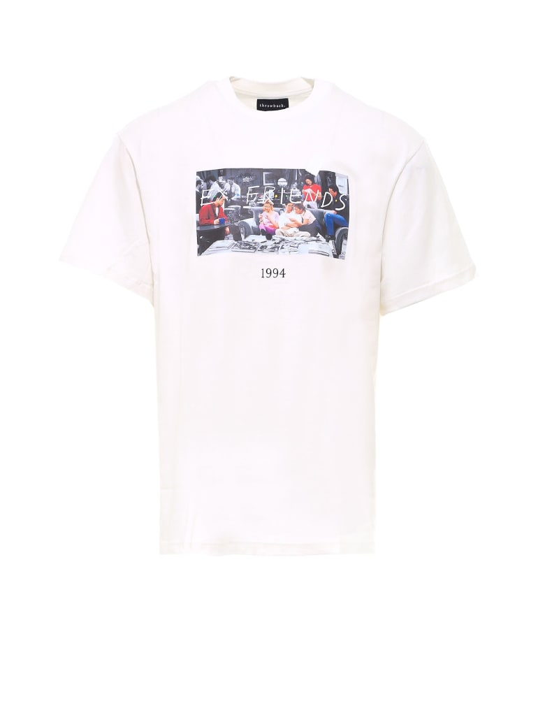 Throwback Friends T-shirt - White