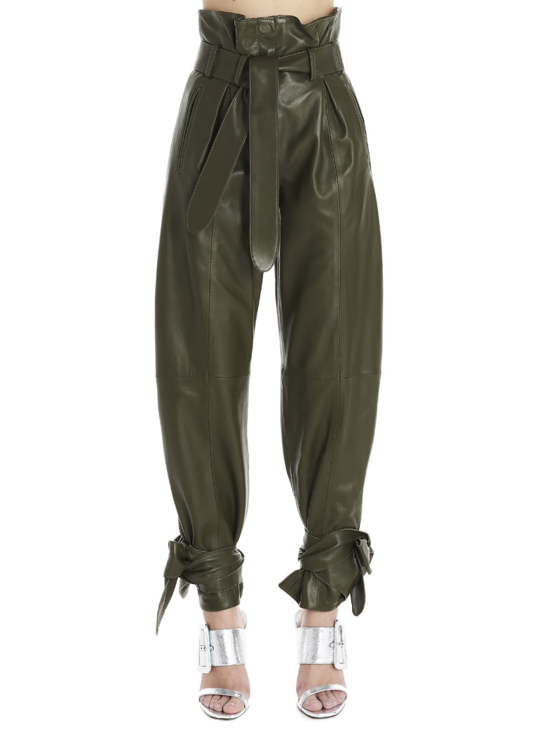 The Attico Pants - Green