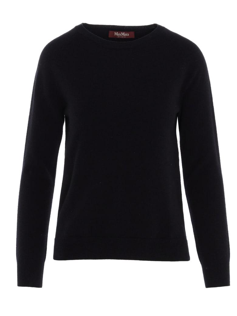 Max Mara Studio 'cinzia' Sweater - Black