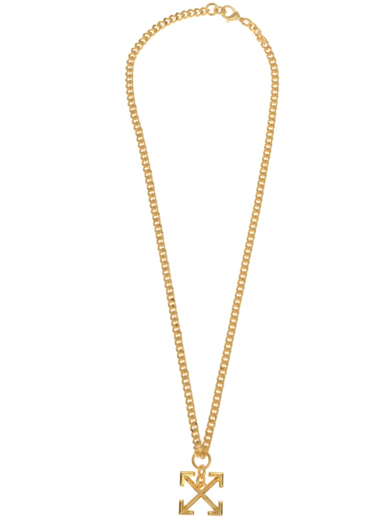 Off-White Necklace - Gold
