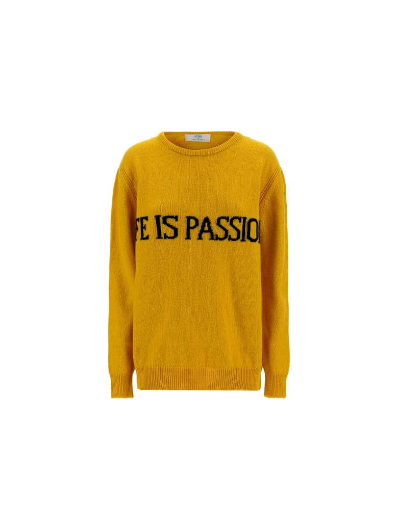 Alberta Ferretti Sweater - Yellow