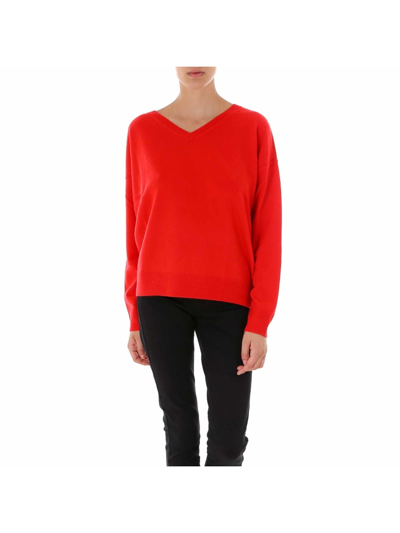 Closed Women S Knit Sweater - Red