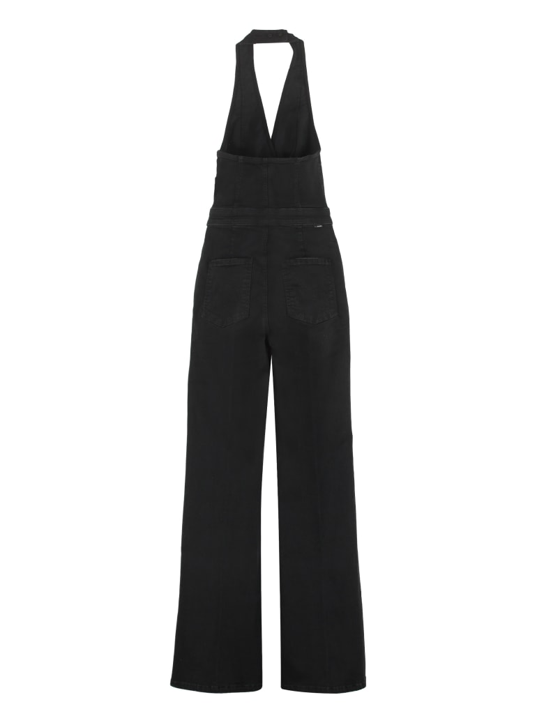 Mother The Halter Doozy Jumpsuit - black
