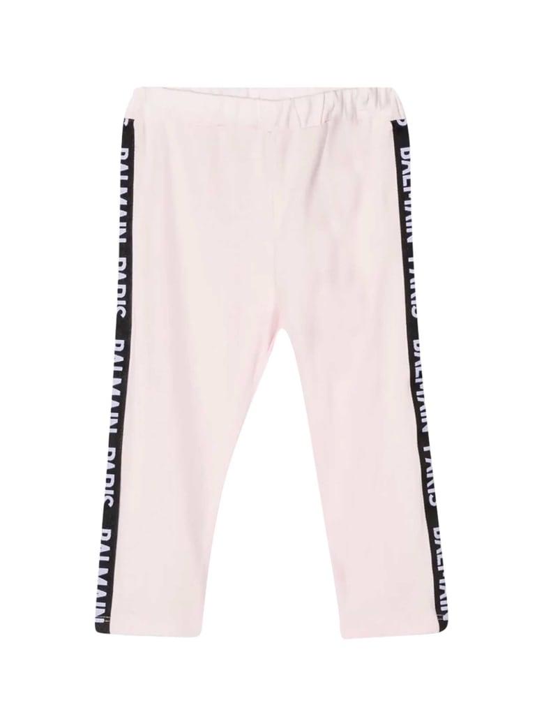 Balmain Pink Baby Trousers - Nero