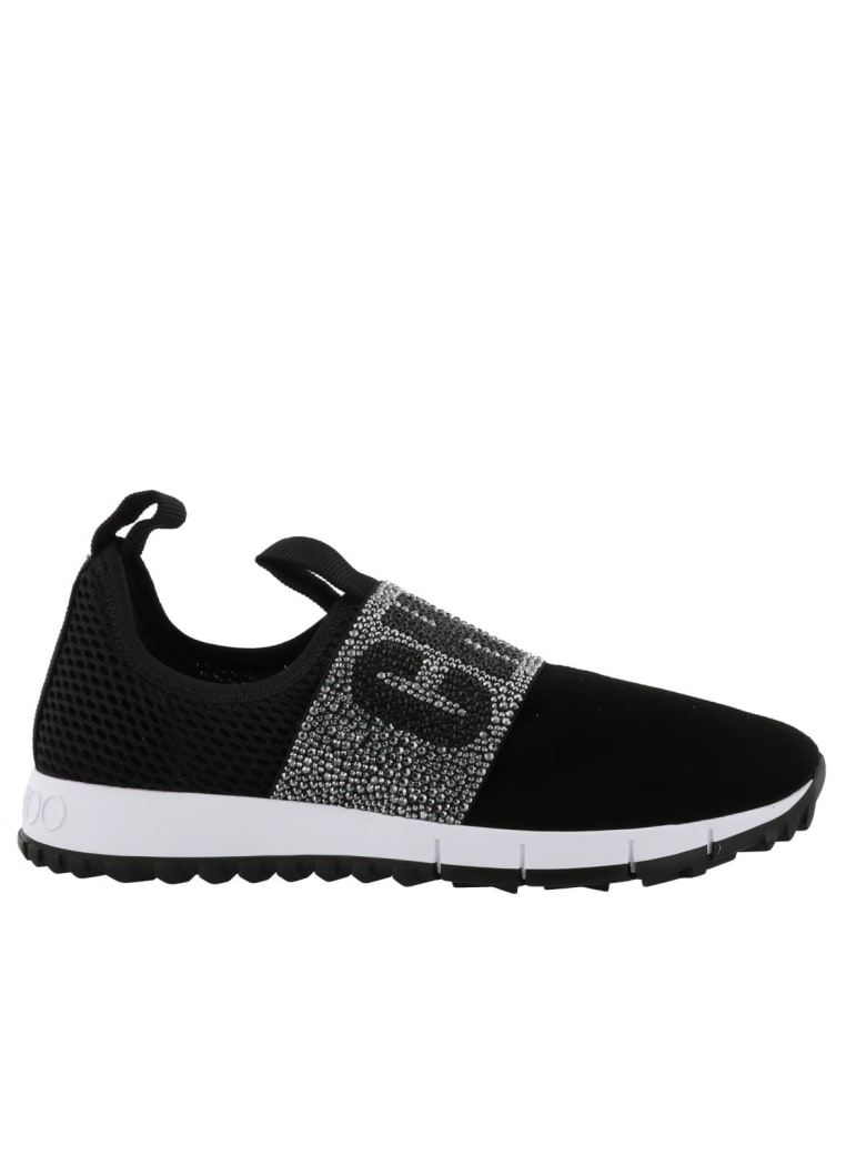 Jimmy Choo Oakland Sneakers - Black