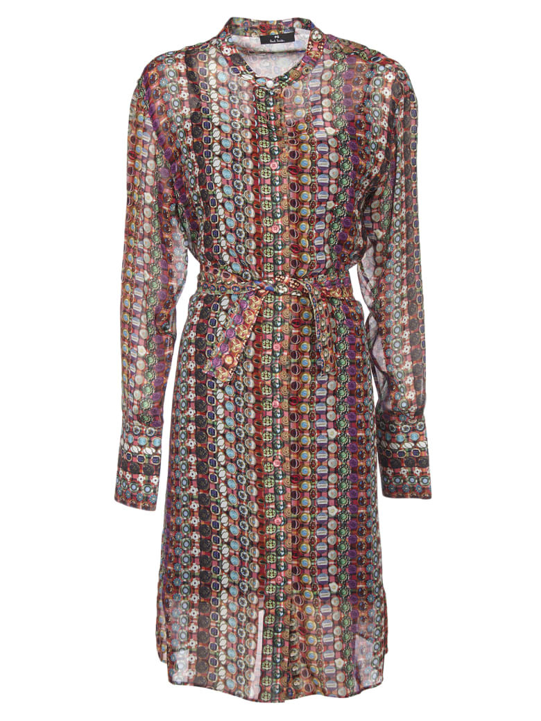 Paul Smith Multicolor Lined Dress - Multicolor