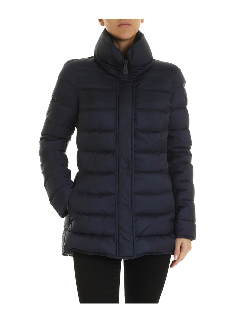 Peuterey Blue Flagstaff Down Jacket In Blue Color - BLUE