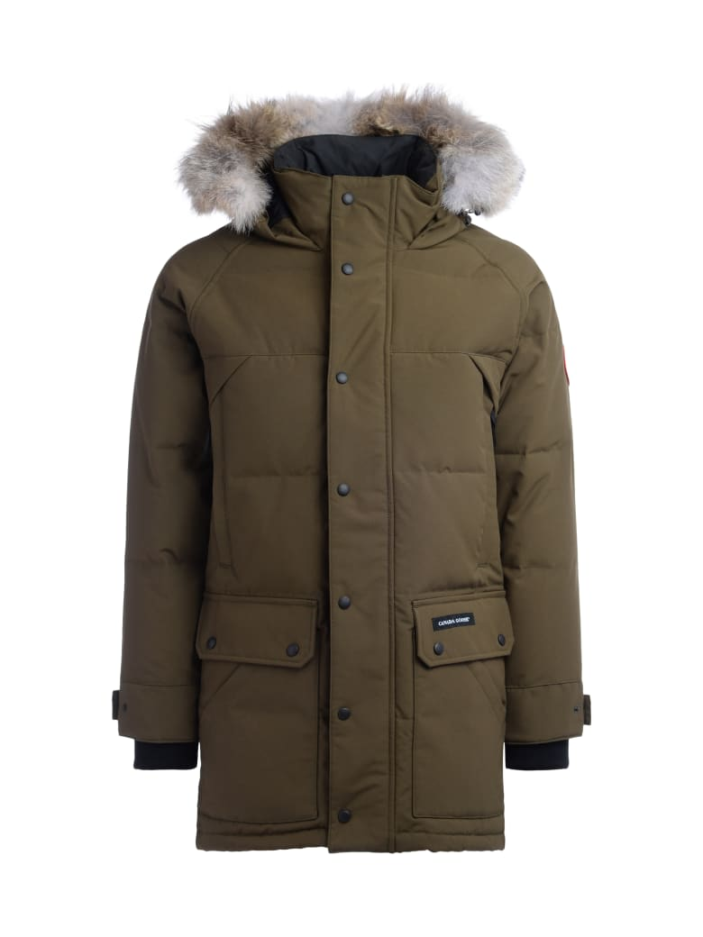 Canada Goose Parka Canada Goose Emory Army Green With Hood - VERDE