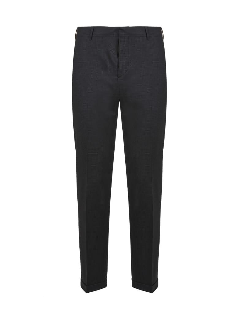 Prada Linea Rossa Tela Bi-stretch Trousers - Nero grigio