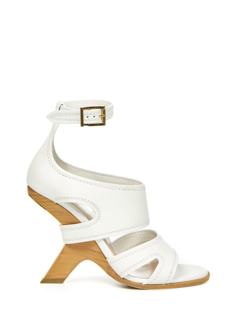 Alexander McQueen Sandals - White