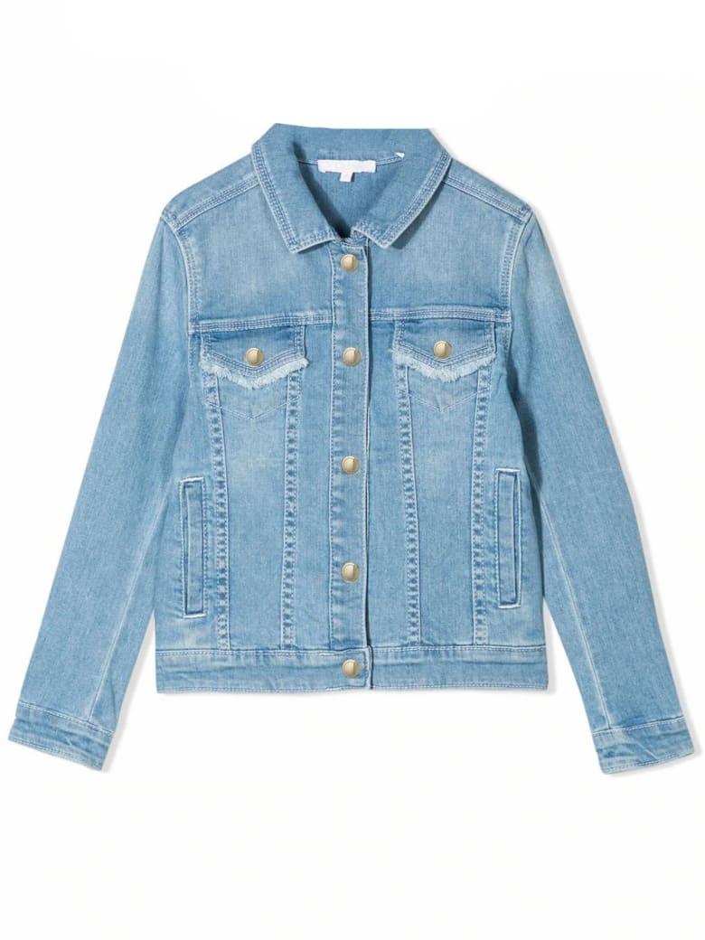 Chloé Blue Stretch Cotton Denim Jacket - Denim