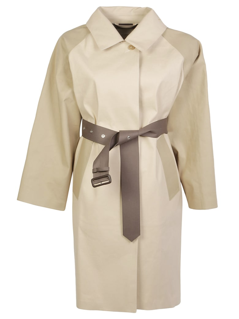 Mackintosh Trench Coat - Putty/fawn/taupe
