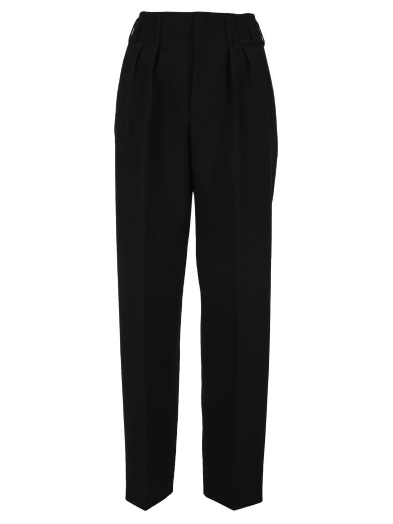 Maison Kitsuné Maison Kitsune Pleated Pants - BLACK
