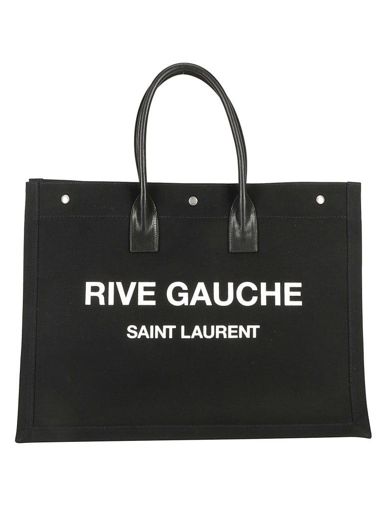 Saint Laurent Tote Bag - Nero/bianco