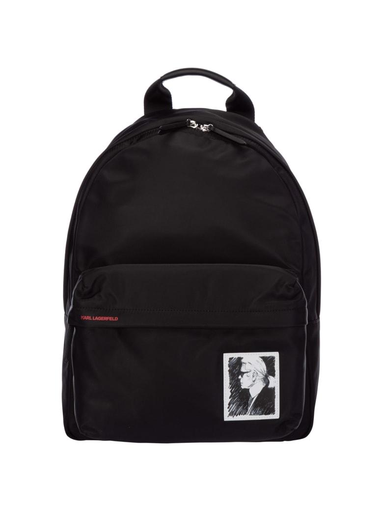 Karl Lagerfeld Karl Legend Backpack - Nero