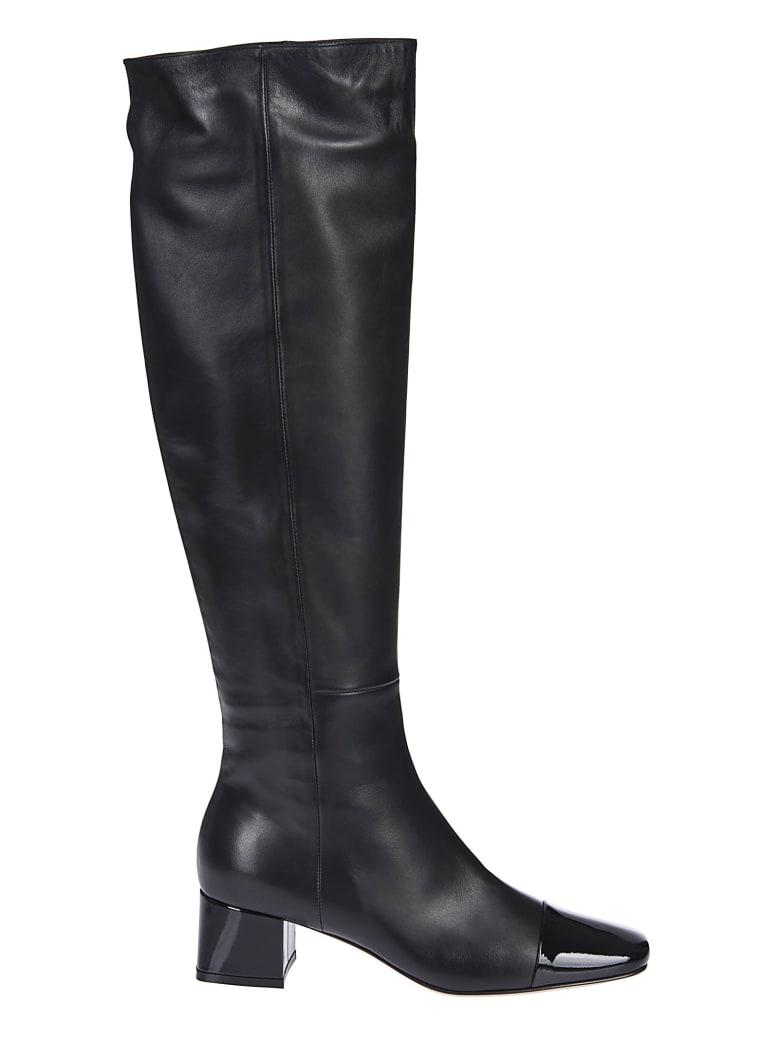 Gianvito Rossi Square Toe Over-the-knee Boots - Black