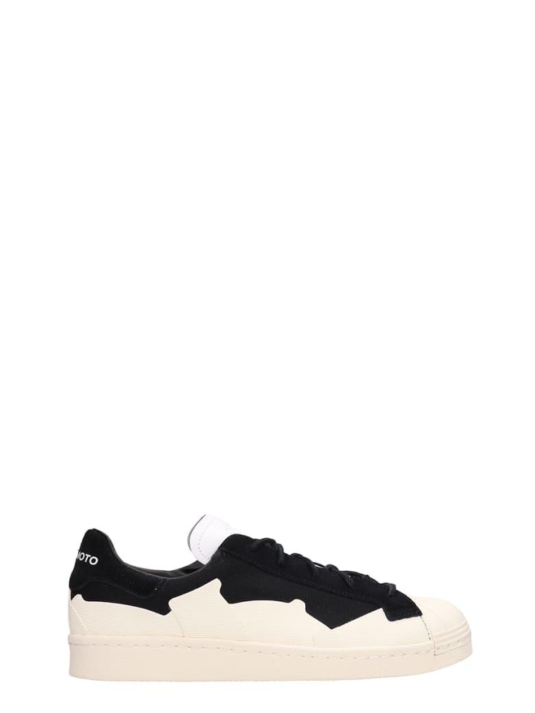 Y-3 Black Canvas Takusan Sneakers - black
