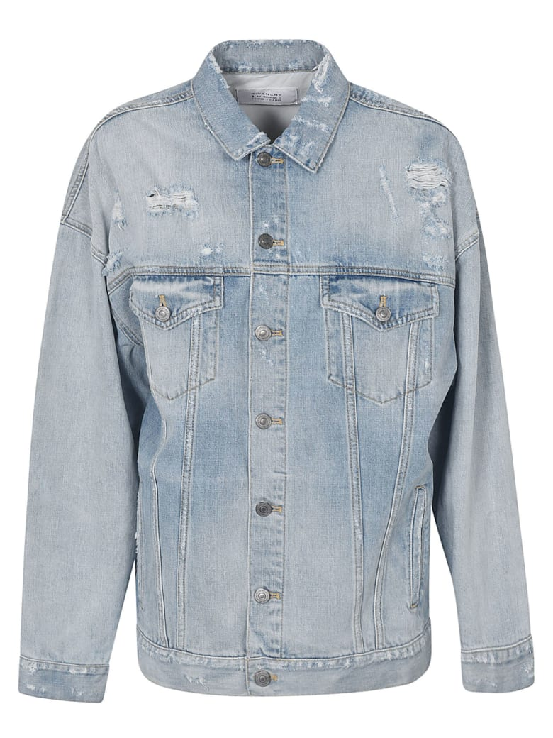 Givenchy Outwear Jacket - Light Blue