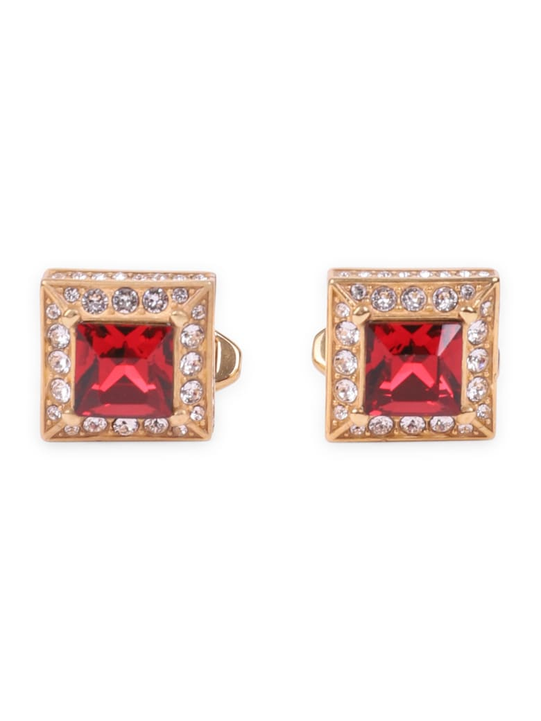 Dolce & Gabbana Red Cufflinks - Red