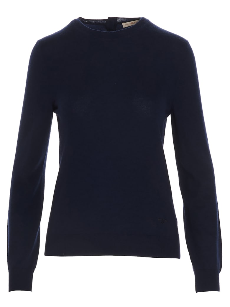 Tory Burch 'iberia' Sweater - Blue