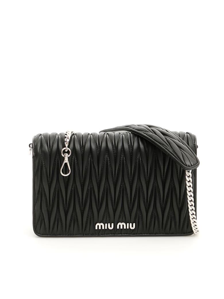 Miu Miu Matelassé Délice Bag - NERO (Black)