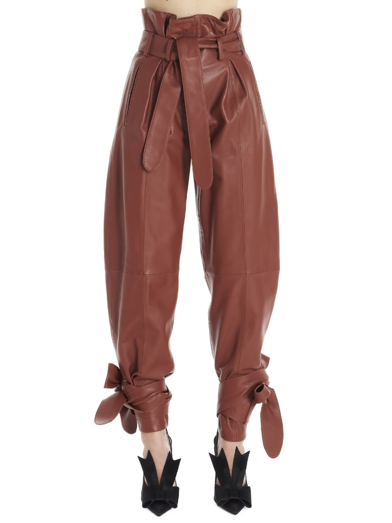 The Attico Pants - Brown