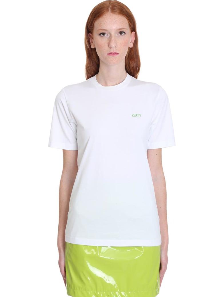 Kirin T-shirt In White Cotton - white