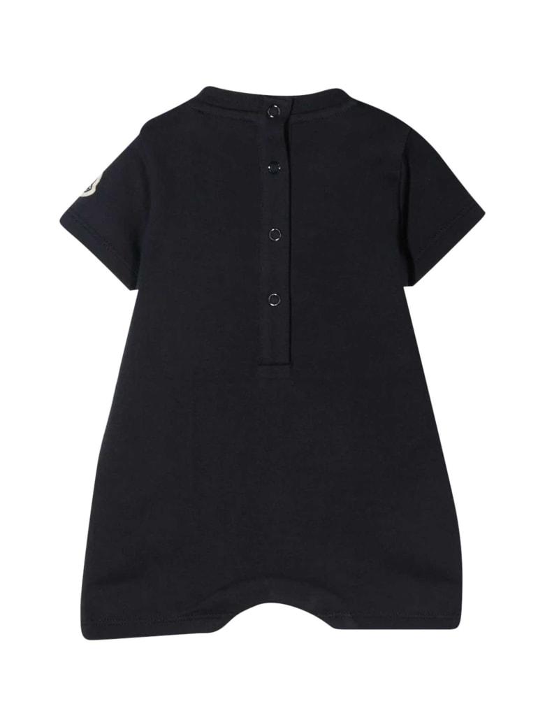 Moncler Black Baby Suit - Nero