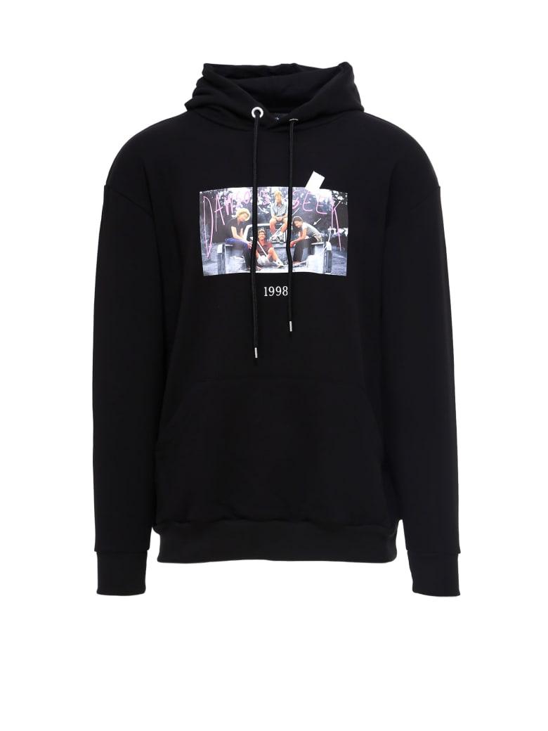 Throwback Dawson Sweatshirt - Black