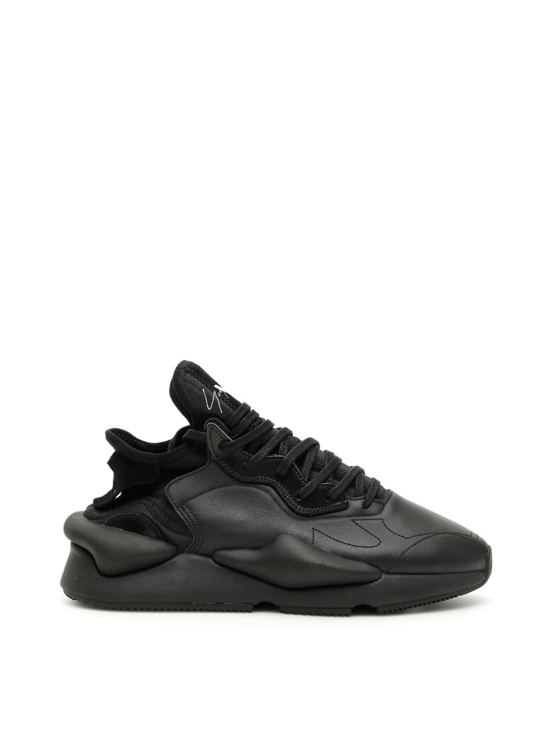 Y-3 Kaiwa Sneakers - BLACK BLACK WHITE (Black)