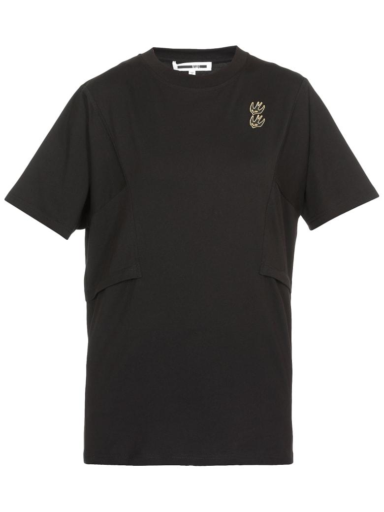 McQ Alexander McQueen T-shirt Swallow Swarm - Darkest Black