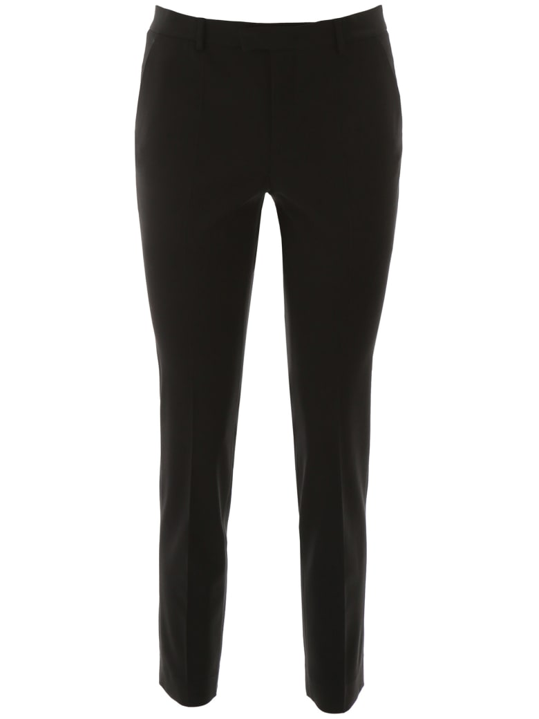 RED Valentino Slim Trousers - NERO (Black)