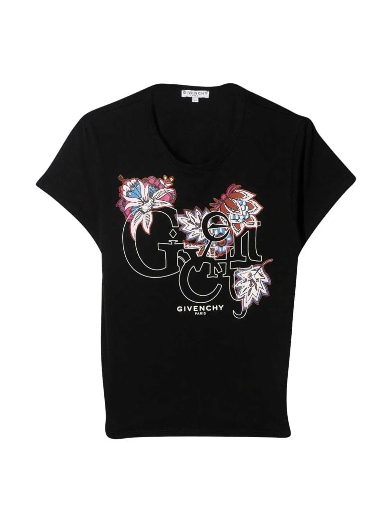Givenchy Black Teen T-shirt - Nero