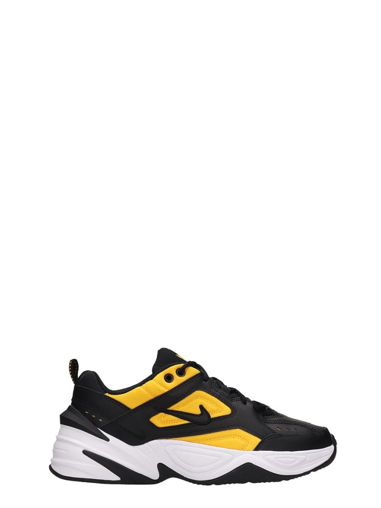 Nike Black Yellow Fabric M2k Tekno Sp Sneakers - black