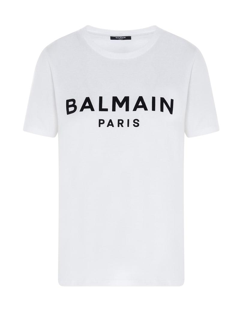 Balmain T-shirt - Blanc/noir