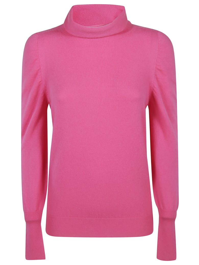Blumarine Turtleneck Sweater - fuchsia