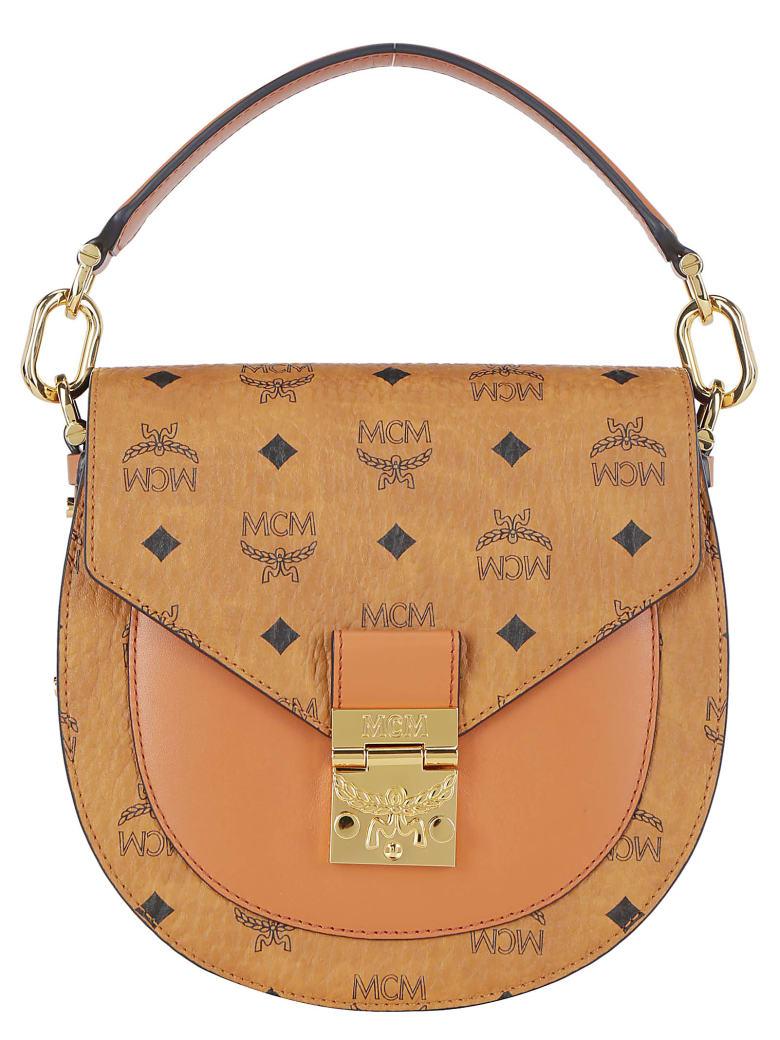 MCM Patricia Small Handbag - Cognac